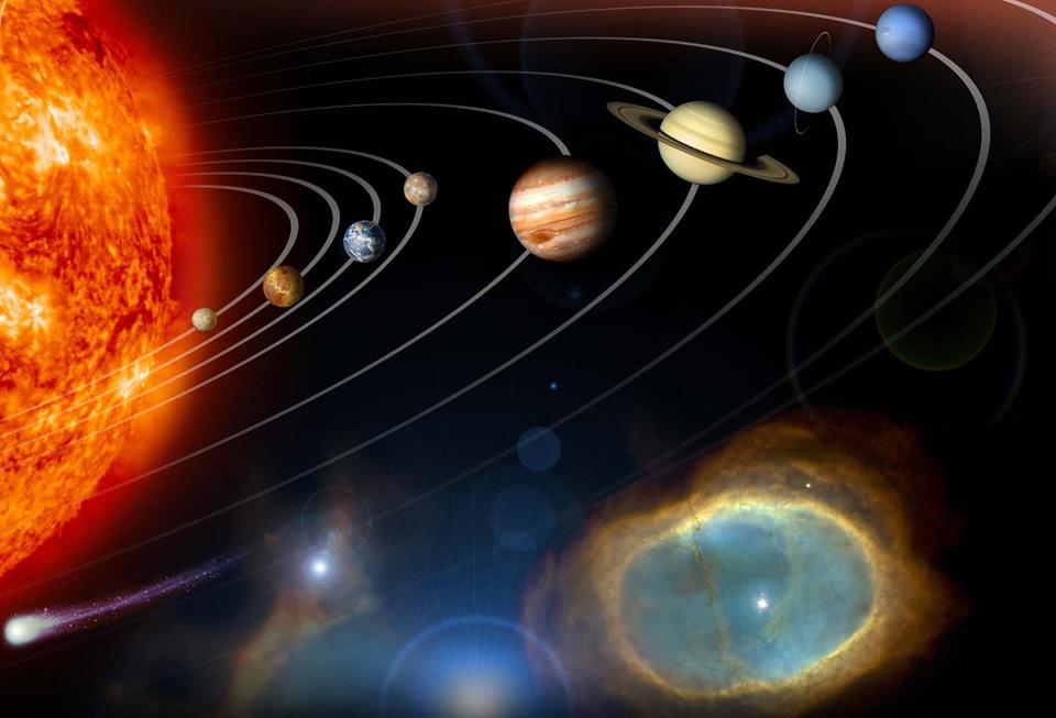 Орбиты планет Солнечной системы занимают жесткие ниши, строго соотносящиеся друг с другом.