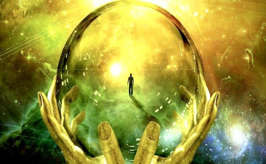 Мы думаем, что наблюдаем нечто внешнее, но то, что мы наблюдаем – это наши мысли, проецируемые как нечто внешнее.