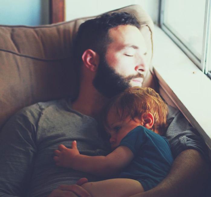 Папы, любите своих детей
